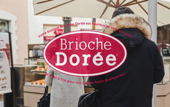 Réouverture du kiosque Brioche Dorée