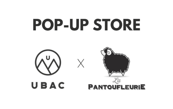 Pop-up store Ubac et La Pantoufleurie