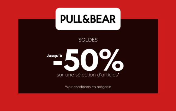 SOLDES - PULL AND BEAR