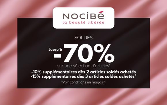 SOLDES - NOCIBE