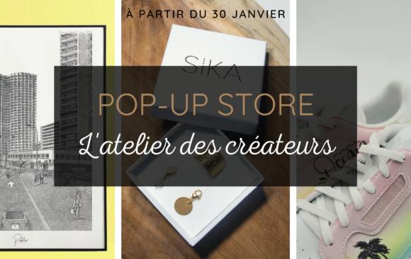 POP-UP STORE L'ATELIER DES CREATEURS