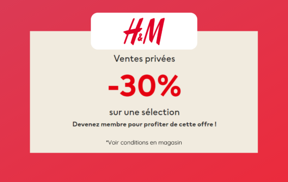 H&M - Ventes privées